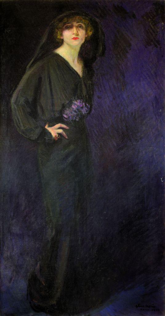 Arturo Noci, Ritratto di Lyda Borelli, 1914