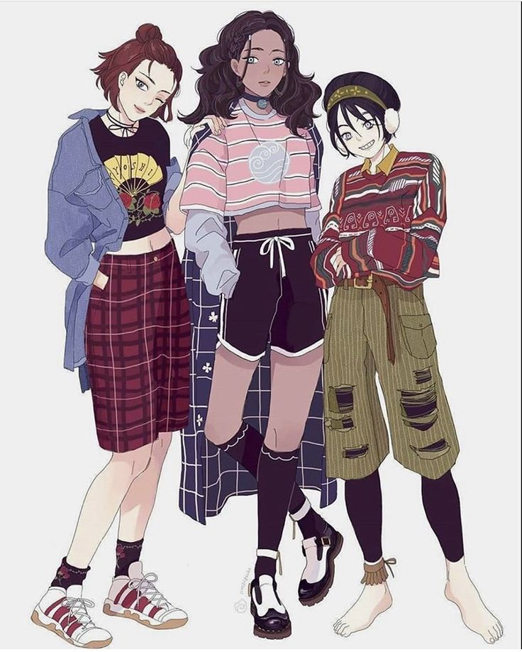 Suki, Katara and Toph Fanart in 2020 Avatar the last