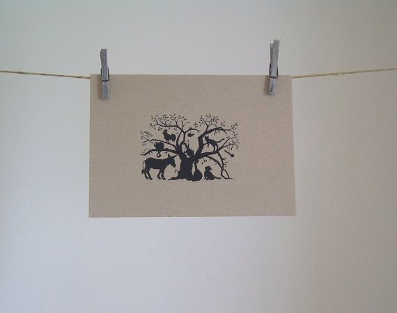 Limited Edition Screenprint  'The Musicians of by DearDaisyChain, $25.00