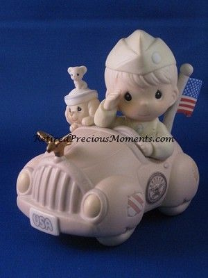 You Will Always Be Our Hero - Precious Moment Figurine