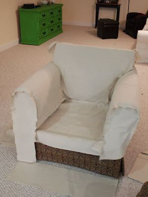 How to Slipcover a Chair the Easy Way! | Less Than Perfect Life of Bliss | home, diy, travel, parties, family, faith