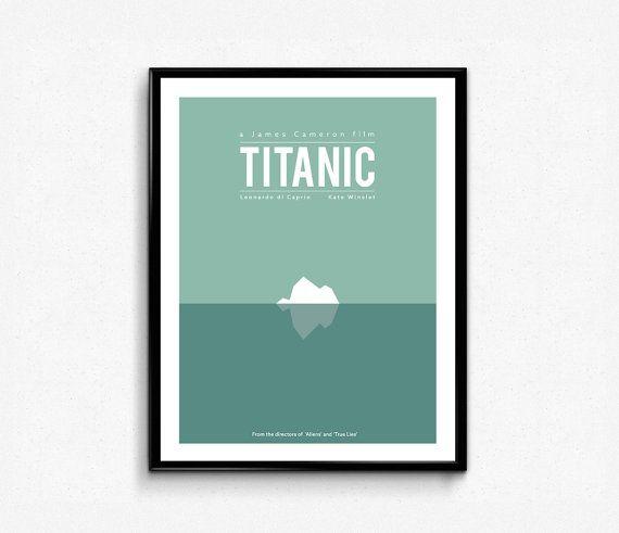 #Titanic #minimalist #Poster #Movie #Poster 12 X 16 inch by #Lotusdesinz