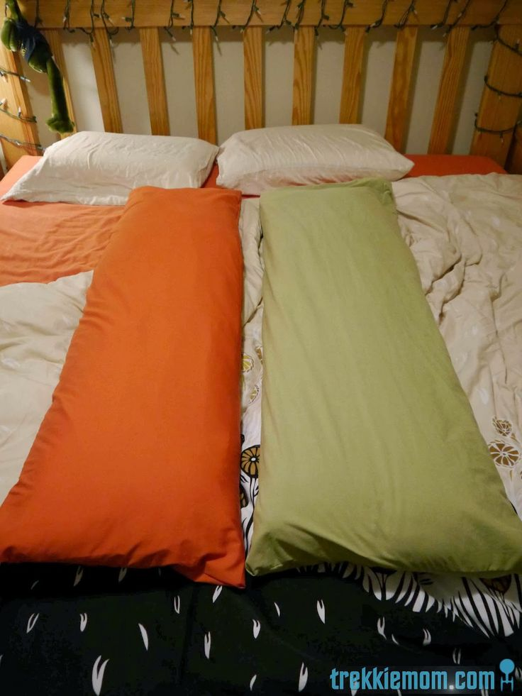 Body Pillow Cover Tutorial From A Bed Sheet Sewing Pinterest New How To Make Body Pillow Cover