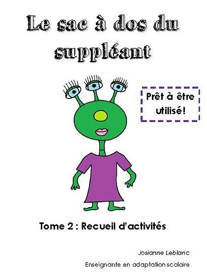Tome 2 - Activités suppléance primaire