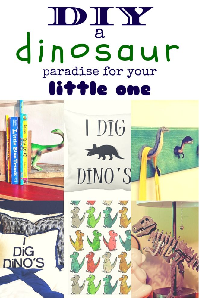 Custom and DIY ways to create a dinosaur bedroom paradise for your boy or girl