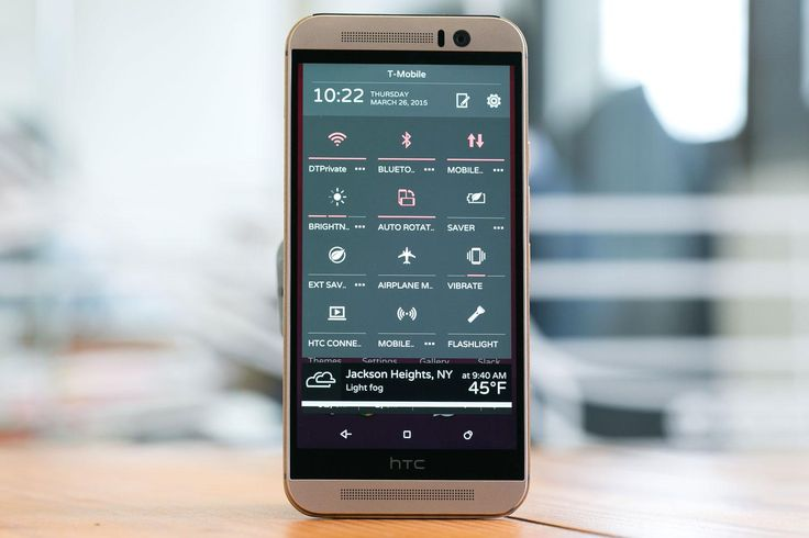 HTC One M9 settings