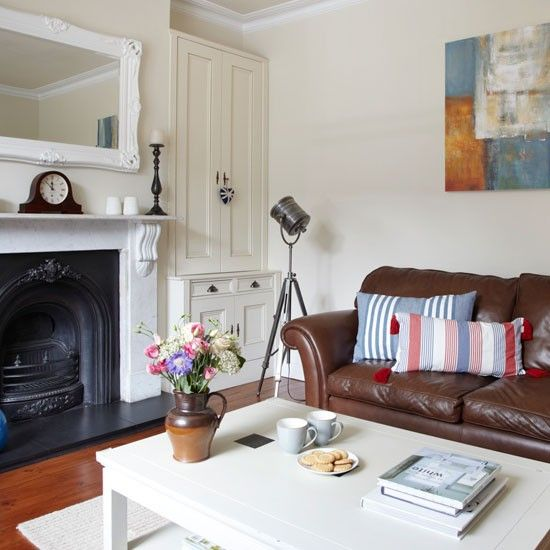 Living room   Step inside this light-filled Edwardian terrace   housetohome.co.uk