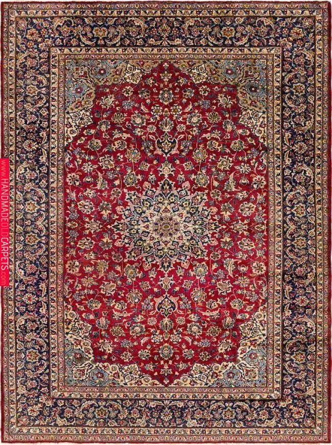 Persian Rug Area Dining Room