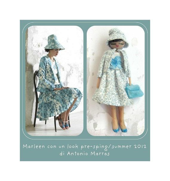 Collana  Marleen con look Antonio Marras pre-collezione primavera 2012 di Antonio Marras