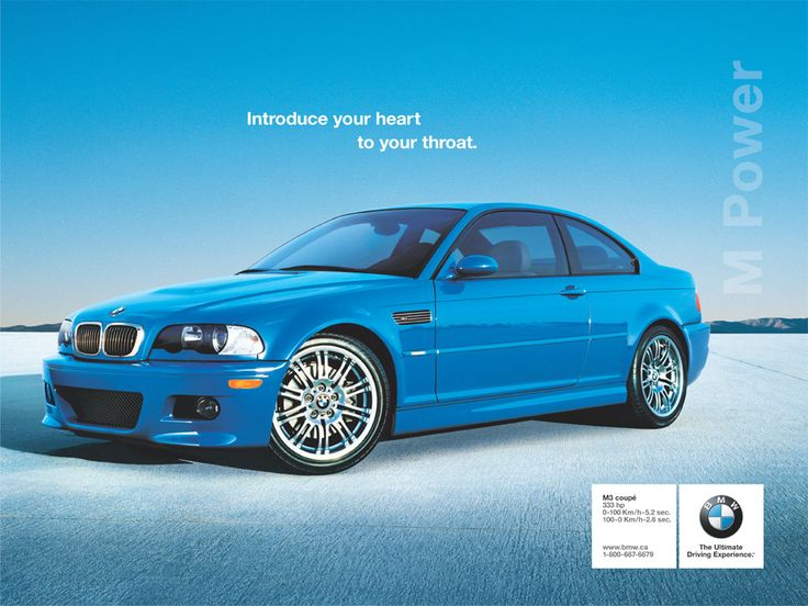 Here are the best BMW ads we have ever seen. BMW's advertisements would challenge other automakers, evoke lust and even sexuality