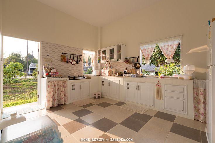 ห้องครัวโทนสีโอโรส