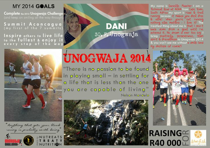 Unogwaja 2014: Dani Mascher. Doing double duty as part of support and cyclist team! Dani is our super woman!