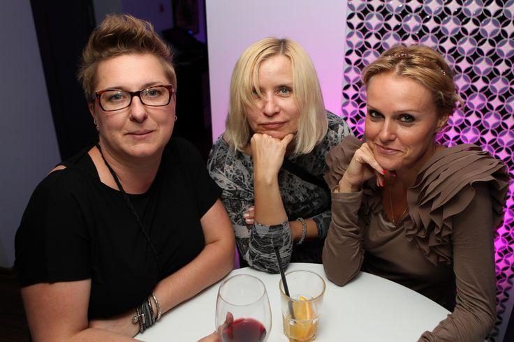 From the left: Magdalena Matuszewska (Havas) , Marlena Przybyszewska , Katarzyna Lachowicz (Havas)