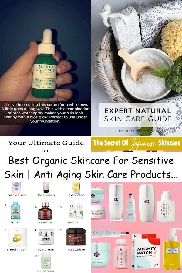 Best Organic Skincare For Sensitive Skin Anti Aging Skin Care Products All Natural Makeup And Skin Care In 2020 Exposed Skin Care Natural Skin Care Natural Skin