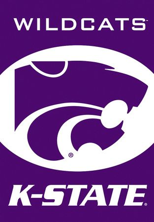 NCAA Kansas State Wildcats 2-Sided House Banner