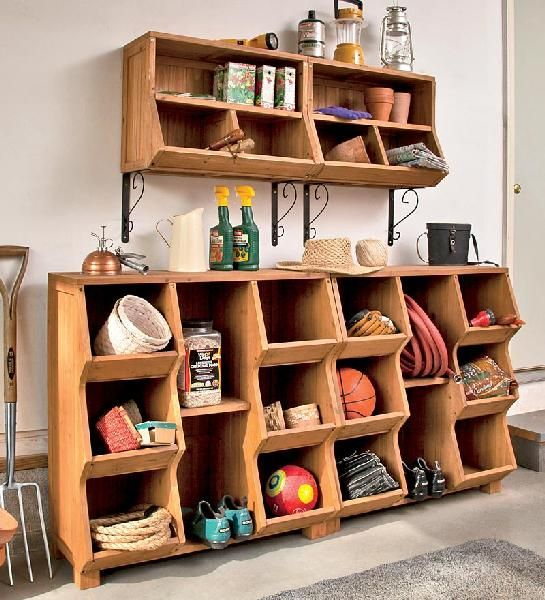 Solid Fir Wood Wall Storage Unit And Cubby Home D Cor Furniture Living Room Winterthur Store
