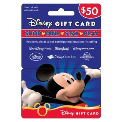 Disney Magical Tip: If you are planning a trip to WDW or Disneyland, start buying gift cards. They do not expire. It will come in handy for all the goodies you wish buy. I can't wait for our next trip to WDW. Ps..save your receipts just in case your card doesn't work. Staple or tape them to the gift cards you bought.