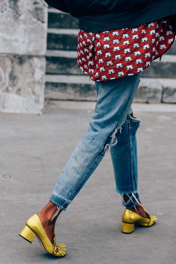 Este modelo de zapatos Gucci, pasará a la historia como uno de los más vendidos. Preciosos en todos los colores pero en mostaza metalizados me parecen lo más.