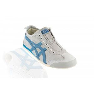Onitsuka Tiger - Mexico 66 Slip On Casual Shoe - Light Grey/Seaport