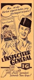 Kertas rokok linting; Papier L' Inspecteur General