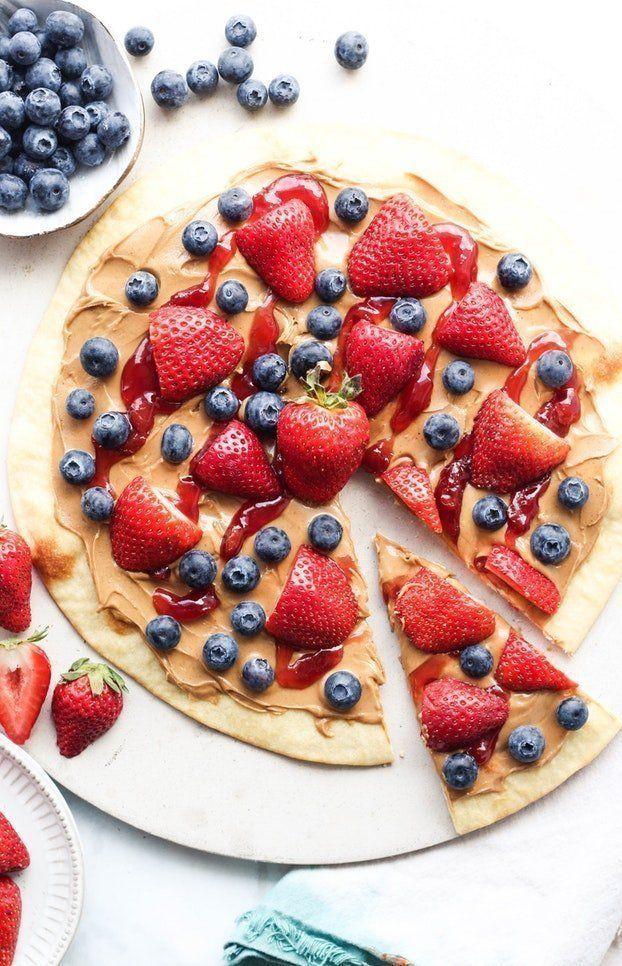 Love Junk Food These 10 Vegan Junk Food Recipes Will Suit Your Cravings Vegan Junk Food Easy Peanut Butter Easy Fruit Pizza