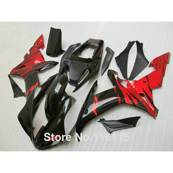 342.00$  Know more - http://ai9x4.worlditems.win/all/product.php?id=32636157956 - Fairing kit for YAMAHA R1 2002 2003 red black fairings Injection molding YZF R1 02 03 full set body kits YZ7