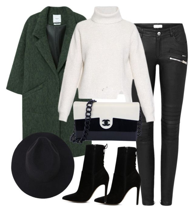 """""""Untitled #2874"""" by theaverageauburn on Polyvore featuring MANGO, Proenza Schouler, Chanel and ALDO"""