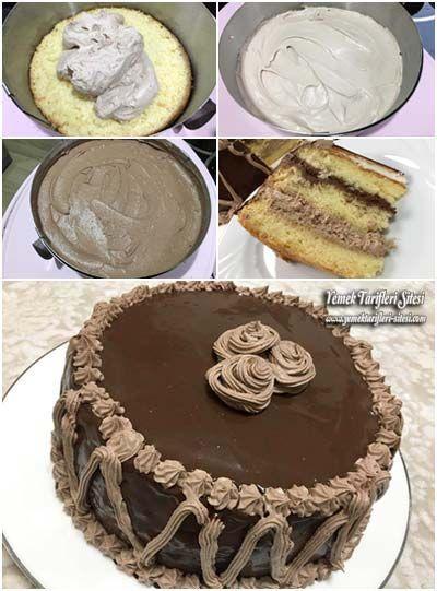 Yumuşacık Yaş Pasta Tarifi