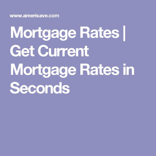 current mortgage rates lexington ky