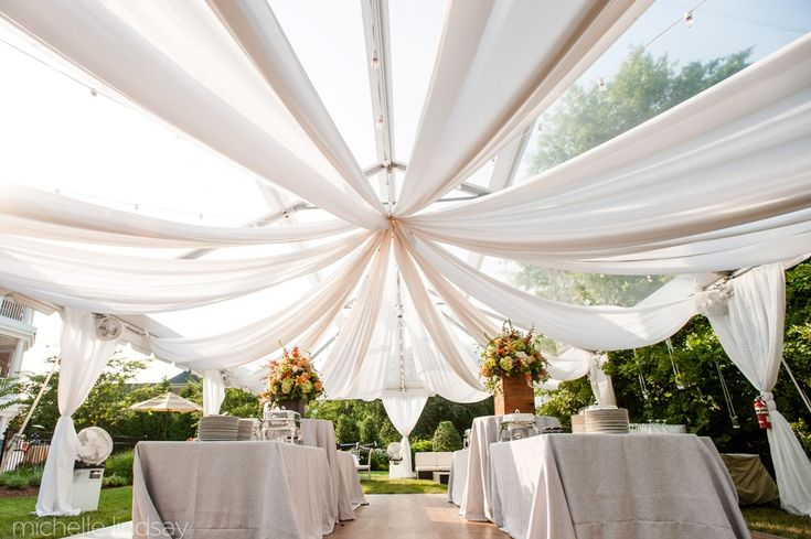 An Introduction to Tents for Your Backyard Wedding | Your Wedding At Home