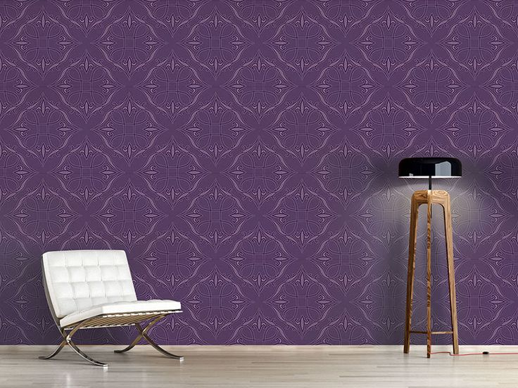 Design #Tapete Renaissance In Violett