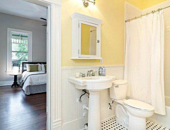 Paint Color Portfolio: Yellow Bathrooms