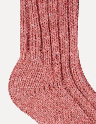Socken mit Woll-Anteil