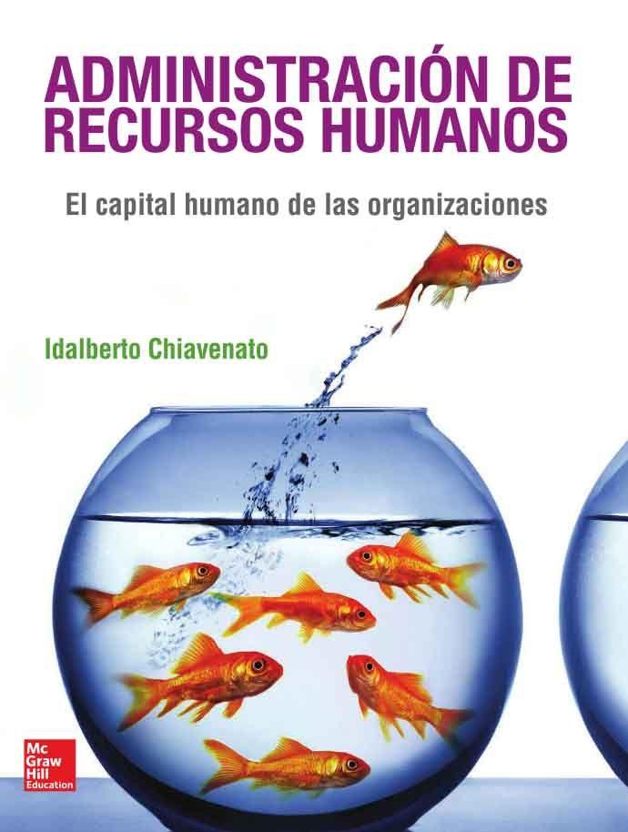 ADMINISTRACIÓN DE RECURSOS HUMANOS 9ED El capital humano de las organizaciones Autor: Idalberto Chiavenato   Editorial: McGraw-Hill Edición: 9 ISBN: 9786071505606 ISBN ebook: 9781456239176 Páginas: 442 Área: Economia y Empresa Sección: RRHH