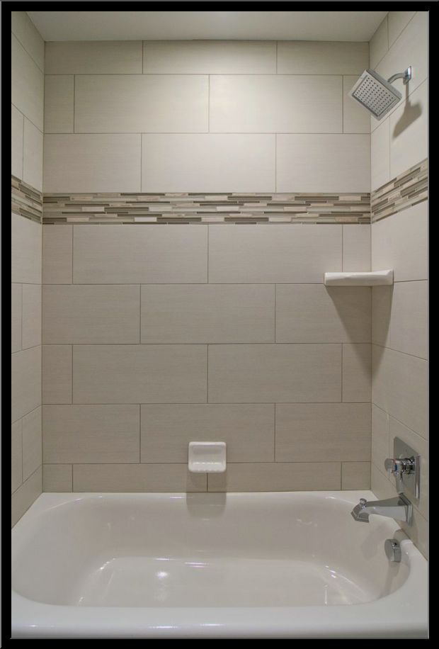 Best 20 bathtub tile ideas on pinterest - Tile shower surround ideas ...