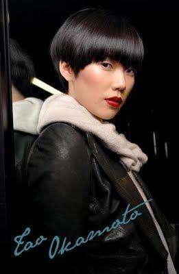Tao Okamoto Model Japanese Nyc Just Short Short Hair