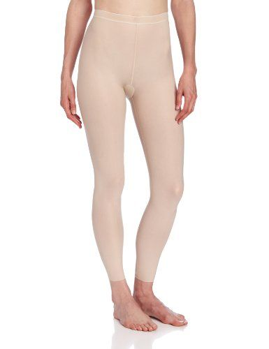 Wacoal Women's Smooth Complexion Shapwear Legging, Naturally Nude, Medium/12. Size: Medium / 12. Two way stretch gives total comfort on the body. Choose your favorite nude from 4 perfection skin tones. Disappears on the body. Clean cut leg finish. Smooth complexion shapewear legging offers a perfect smoothing foundation that softly shapes and controls.