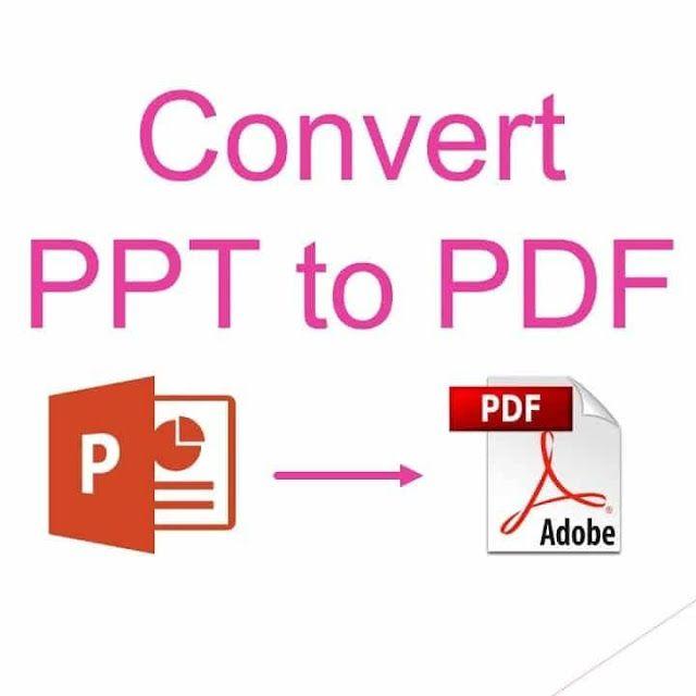 طريقة حفظ برنامج العروض التقديمية باوربوينت Powerpoint كملفات Pdf Ppt Pdf Powerpoint