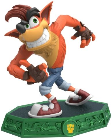 Crash Bandicoot is back as a guest star in Skylanders® Imaginators. Crash Bandicoot maintains his unique and quirky personality both as a fully playable Skylander Sensei character and brand new toy in the game. (Photo: Business Wire)