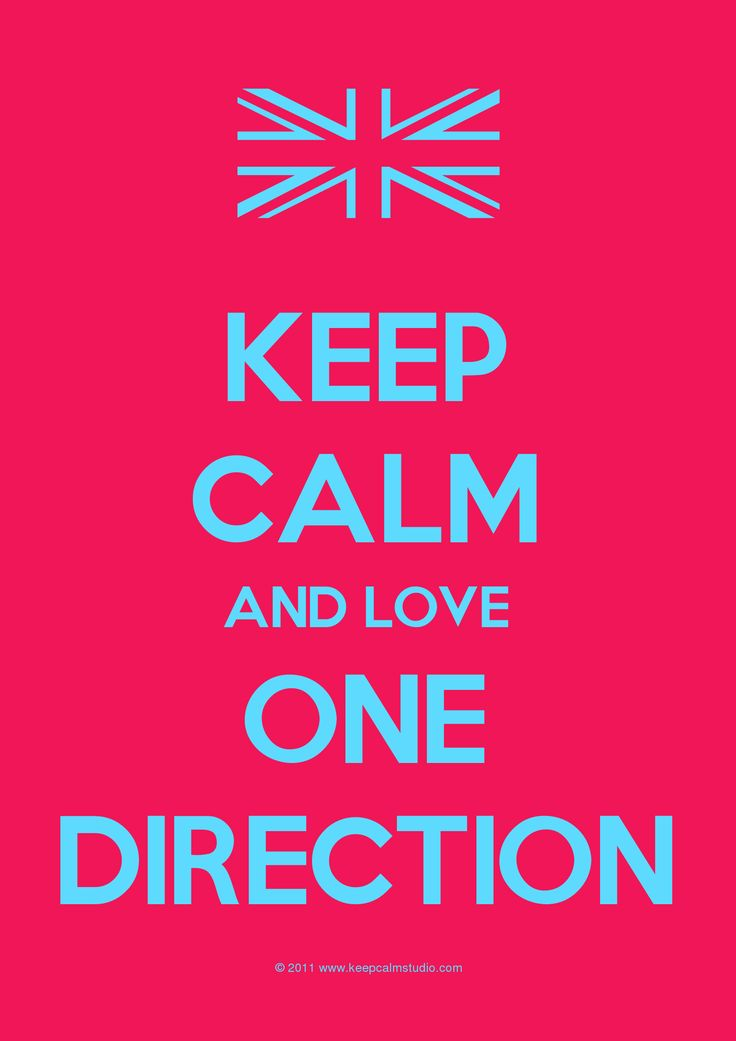 Keep Calm and luv 1D