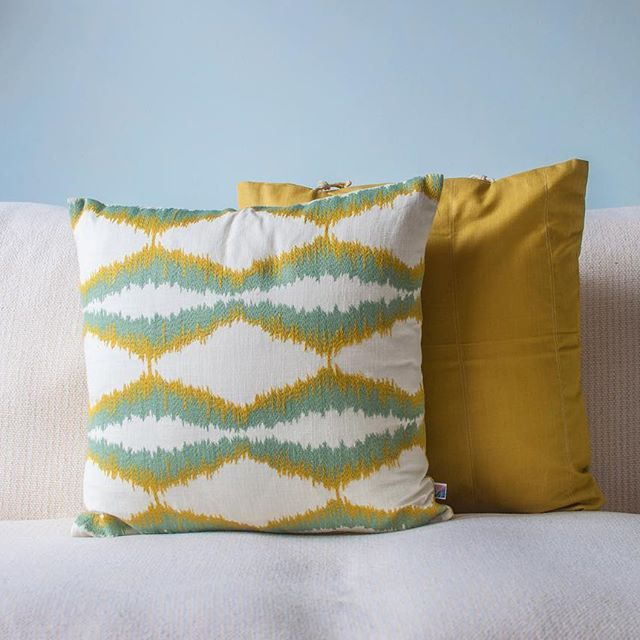 My lovely friends over at @wovenrichesuk have launched their #Etsy web shop featuring stunning handcrafted textiles, sold in Northern Ireland but sourced from India. Check 'em out at wovenriches.etsy.com. #ShopLocal .  Photographed by @belleinbelfast .  .  .  #HomeDecor #Embroidery #Cushions #Textiles #IndianHomeDecor #loveIndia #interiorinspo #interiorstyle #interiorstyling #interiorandhome #NorthernIreland #homeinspo #instahome #India