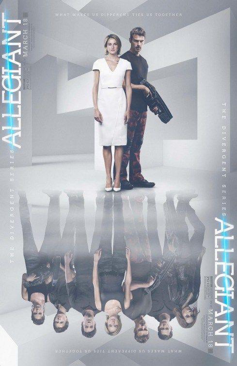 The Divergent Series: Allegiant Yönetmen: Robert Schwentke Yazar: Noah Oppenheim, Adam Cooper Oyuncular: Shailene Woodley(Tris), Zoë Kravitz(Christina), Naomi Watts(Evelyn), Theo James(Four)
