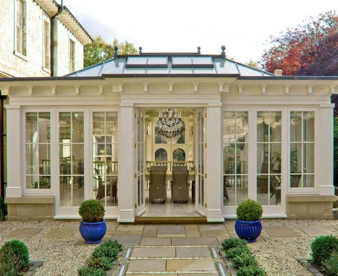 Chic cost of conservatory by Town and Country Conservatories