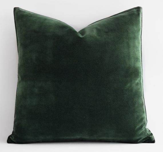Black Linen Pillow CoverBlack Throw