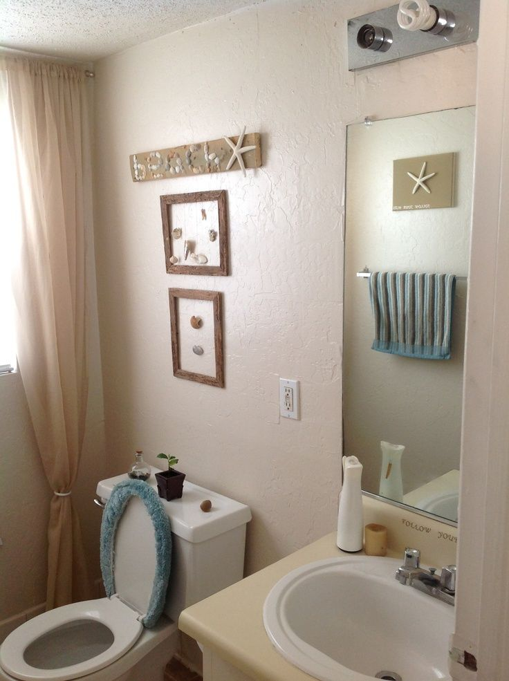 Best 25  Beach themed bathrooms ideas on Pinterest   Beach themed bathroom  decor  Beach theme bathroom and Seashell bathroom decor. Best 25  Beach themed bathrooms ideas on Pinterest   Beach themed