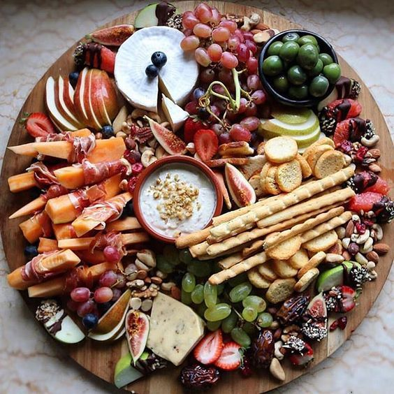 Image result for grazing platter ideas (cheese party platters ideas)