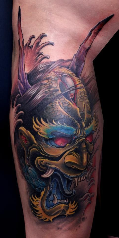 17 Best images about Oni Mask on Pinterest | The mask ...