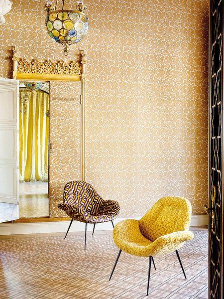 M s de 1000 ideas sobre sillas tapizadas en pinterest - Gancedo papel pintado ...