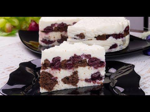 Prăjitura cu brânză și vișine - un desert demențial de savuros! - YouTube