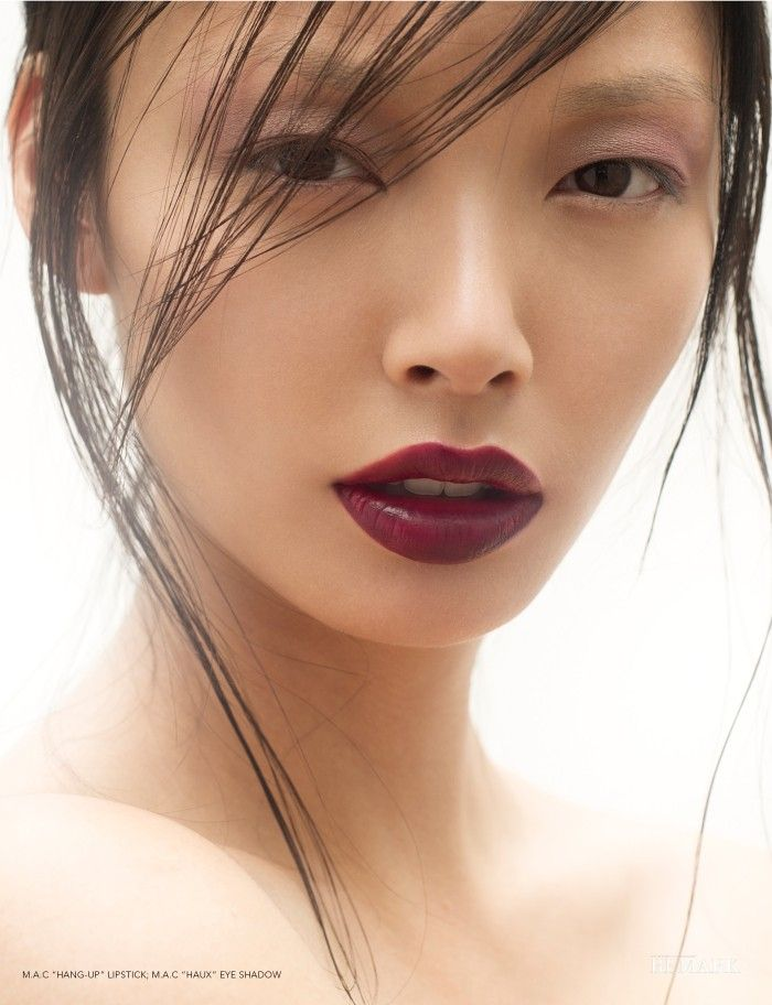 Alice Ma by Richard Dubois for Remark Magazine mac hang-up lipstick